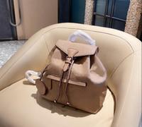 Mochila negra de lujo de la mochila negra bolsa de hombro de la bolsa de hombro extraíble patrón de la letra de la moda de cuero