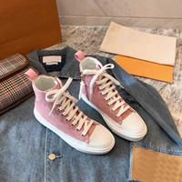 STELLAR STEAKER BOOTS Womens Fashion Designer Дамы на завязке на молнии Квартиры Высокие Кожаные кроссовки Повседневная Обувь с коробкой 35-41ab