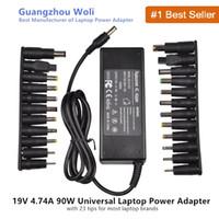 19V 4.74A 90W Universal Power Caricatore per Acer Asus Dell HP Lenovo Samsung Toshiba Laptop 18.5V 19.5V 20V