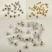 FAI DA TE orecchie di metallo tappo a forma di pallottola Donne a forma di orecchini Orecchini in oro Argento Placcatura Placcatura dell'orecchio Tappo di gioielli Risultati Foglio di plastica 0 03yz L2