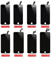 LCD Display Touch Screen Panels Digitizer Assembly With Frame Repair Replacement For iPhone 5s 5SE 6 6s 6sp 7 7p 8 8p