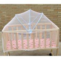 طفل البعوض صافي مهد سرير شبكة للأطفال في الهواء الطلق البعوض شباك الحشرات التحكم سرير للطي المحمولة الطفل مهد غطاء