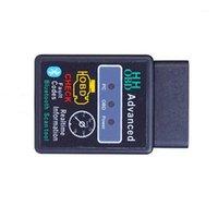 Kod Okuyucular Tarama Araçları HH OBD ELM327 Bluetooth OBD2 OBDII Araba Otomatik Teşhis Tarayıcı Aracı 12v1
