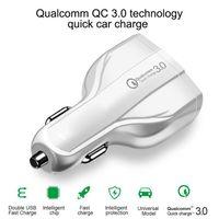 35W 7A 3 Ports Auto-Ladegerät Typ C und USB-Ladegerät QC 3.0 Mit Qualcomm Quick Charge 3.0 Technologie für Handy GPS-Energien-Bank Tablet P