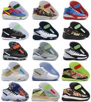 Bon marché Kevin Durant KD 13 xiii Kevin Basketball Chaussures 13S pour Mens Black Blue Camo Semes Bred Arrivée Entraîneurs Sneakers