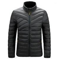 Мужские пустынные Parkas Kimsere мужские хлопчатобумажные выстроились теплые пальто мода толстые термальные куртки для человека верхняя одежда легкий вес вершины одежды