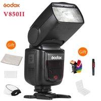 Camera Godox V850II GN60 Off 1 / 8000s HSS flash Speedlite sem fio 2.4G Sistema X Li-ion para PentaxDSLR Camera