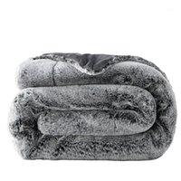 23 flaumige dicke pelz plüsch decke chunky warm sofa karierte twin volle größe weicher costertor nerz werfen couch stuhl bett decke1