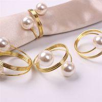 Nozze da tovagliolo anelli metallo tovaglioli titolari per cene party hotel tavolo da sposa decorazioni forniture forniture fibbia da tovaglioli 100pcs t1i3432