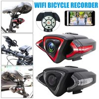 Cyclist Camera Night Rear View WiFi Bike Cam DVR Bicycle Cyc...
