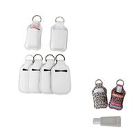 Soporte de botella de perfume de neopreno en blanco de 30 ml SBR SBR en blanco Dinero de la botella de la botella de la mano del perfume de la botella de la botella del perfume blanco Regalo