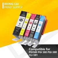 2021 Mürekkep Kartuşu Canon PGI580 için Uyumlu CLI-581TR7550 TR8550 TS6150 TS6151 TS8150 TS8152 TS9150 TS91551