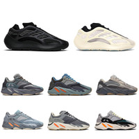 2020 corridore dell'onda 700 Blush Deserto Rat Salt 700V2 Triple nero riflettente Running Shoes Kanye Uomini Donne Formatori della scarpa da tennis pattini atletici