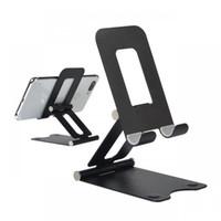 Uniiversal Faltbare Metalltelefonständer Halter Verstellbare Schreibtisch-Handyhalterung für Handytablettenmontage