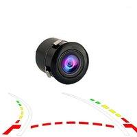 170 Geniş Açı Araba Ters Kamera HD Gece Görüş Dikiz Kamera Yedekleme Park Kamera Yüksek Su Geçirmez Geri Dönen Monitör1