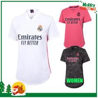 امرأة 2020 ريال مدريد كرة القدم جيرسي 20 21 قميص كرة القدم الرياضي