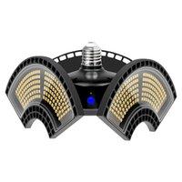 창고에 대한 최신 디자인 E27 변형 가능한 접이식 차고 램프 슈퍼 밝은 산업용 조명 60W 80W 100W UFO 높은 베이 산업 램프