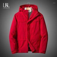 겨울 남자 오리 재킷 코트 2020 캐주얼 복어 두꺼운 90 % 화이트 오리 파카 남성 윈드 브레이커 2020 남자 다운 재킷 1
