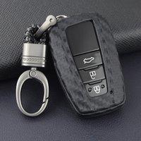 Araba Anahtarı Durumda Kapak Uzaktan Anahtarlık Tutucu Toyota Camry RAV4 için Fit Corolla C-HR Prius GT86 LC150 Avalon