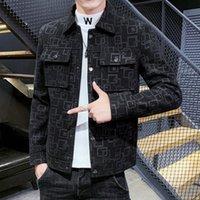 남자 재킷 망 캐주얼 겉옷 자켓 코트 겨울 양모 슬림 피트 맨 완두콩 M-3XL Jaqueta Masculina 폭격기