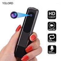 Digital-Voice-Recorder Full HD 1080P Mini-Kamera-CAM-Video-Video-Smart-Aufnahme Audio-Stereo-Stift USB U-Festplattenkragen-Clip 8GB / 32GB / 64GB1