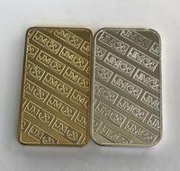 JM Johnson Laser Bar Magnetic Non 28 Serial X Decorazione con oro Matthey 10 mm Silver PCS OZ Bar Placcato diverso MM 50 Coin 1 Jllny