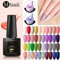 Mtssii UV Gel Nail Polish Nail Art Design Manicure Soak Off Enamel Gel Polish Top Coat Lacquer Semi Permanent