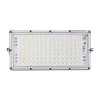 100W 7. Generation Modul ultradünnes LED-Flutlicht, IP65-Außen-Flutlicht, kühles weiße Flutlicht für Garten, Garten, Spielplatz