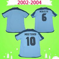 الرجعية 2002 2003 2004 celta دي فيجو لكرة القدم قميص 02 04 كرة القدم جيرسي خمر المنزل أزرق كلاسيكي camiseta ميلوسيفيك mostovoy jesuli