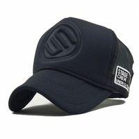 Marka Beyzbol Kadın Erkek Hip Hop Şapka Casual Casquette Trucker Cap Gorra Hombre I6jf # İçin Yaz Mesh Snapback Caps Şapka