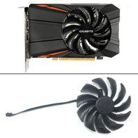 T129215SU PLD09210S12HH 3Pin Fan refrigeração Substitua para Gigabyte GeForce GTX 1050 Ti para AMD RX550 RX 560 Fan Mini ITX G11