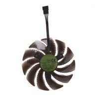 Fanlar Soğutma T129215SU 85mm Gigabayt GeForce GTX 1050 1050Ti için Soğutma Fanı Soğutucu Soğutucu 10501
