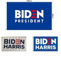 블루 사각형 퍼레이드 배너 2021 미국 바이덴 해리스 대통령 퍼레이드 캠페인 선거 플래그 150 * 90cm 폴리 에스터 플래그 공장 직접 10WG M2
