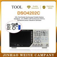 HANTEK الذبذبات dso4202c 2 القنوات 200 ميغاهرتز USB تعسفية + التعسفي الموجي 1gsa / ثانية معدل عينة