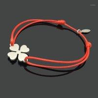 Braccialetti di fascino Desideri Braccialetto con cinturino in acciaio inox Amicizia Amicizia Cavo regolabile Buona fortuna Wish 1