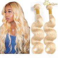 3 paquetes 613 Brasileño onda corporal 100% Extensiones del cabello humano brasileño Brasileño Peluquería Paquetes GAGA Queen