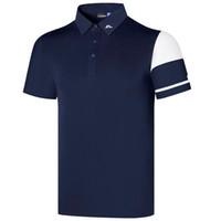 Frühling Sommer Neue Männer Kurzarm Golf T-shirt Weiß oder Schwarz Jl Golf Kleidung Outdoor Sport Freizeit Golf Hemd Freies Verschiffen