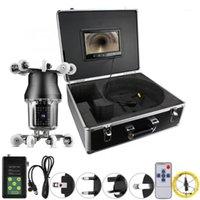 9in 30 m 360 derece Döndür 38LED IP68 Kanalizasyon Muayene Borescope Kamera Endüstriyel 100-240 V endoskopik için Endoskopik1