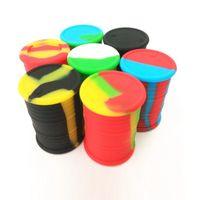 Conteneurs de cire antiadhésifs boîte de silicone 11ml conteneur poteaux de qualité alimentaire bocaux de stockage d'outil de stockage d'outil de stockage dajl DHL