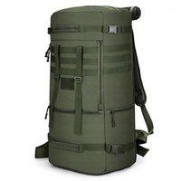 Bolsas al aire libre 60l Senderismo Mochila Camping Bag Tactical Viajar Escalada Molle Nylon Army Bag1