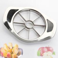 Paslanmaz Çelik Elma Dilimleme Sebze Meyve Dilimleme Elma Armut Kesici tart İşleme Mutfak Dilimleme Bıçakları Eşyası Aracı LX3474