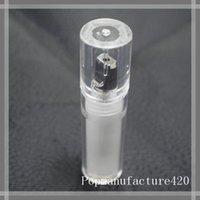 AC1003 AC1007 92A3 carts recipiente de plástico pacote tubo de recarga de caneta vape para tanques de óleo e cig 510 de rosca