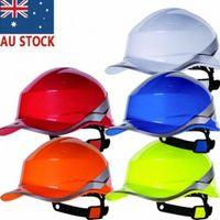 Delta Plus ACCIÓN US DIAMANTE V UP Casco de alta visibilidad Constructores sombrero duro con la correa de barbilla 03dg #