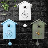 Moderno Pájaro Cuco Cuartez Reloj de Pared Home Sala de estar Horologe Relojes Temporizador Oficina Oficina Decoración Casa Regalos Reloj Colgando