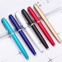 2021 13.3x1cm بقعة تسجيل القلم فندق الأعمال هدية القلم هلام المعادن القلم