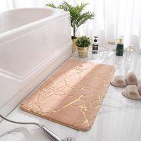 Tapetes de banho Quarto banheiro antiderrapante imitação de pele tapete de pele sala absorvente piso esteira de pelúcia entrada