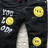 2019 nuovo inverno spessore caldo ragazzi jeans nero moda abbigliamento abbigliamento bambino neonato in denim pantaloni per bambini da 1-5 anni DB-B02 Q1219