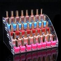 Organizer-Regal für Nagellack-Tattoo-Tintenlacke Kosmetische Display-Regalhalter Acrylabnehmbare Rack-Make-up-Aufbewahrungsbox Bin Y200429