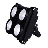 Высокое качество 4X100W 400W 4 Глаза DMX Свет этапа COB 2IN1 Warmwhite / coolwhite LED Blinder Свет LED аудитории театра студийный свет