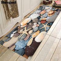 Thregost 3D живописные печатные кухонные ковры против заноса коврик для пола длинные дверные коврики прихожей кухни ковры не скользят спальня MAT1